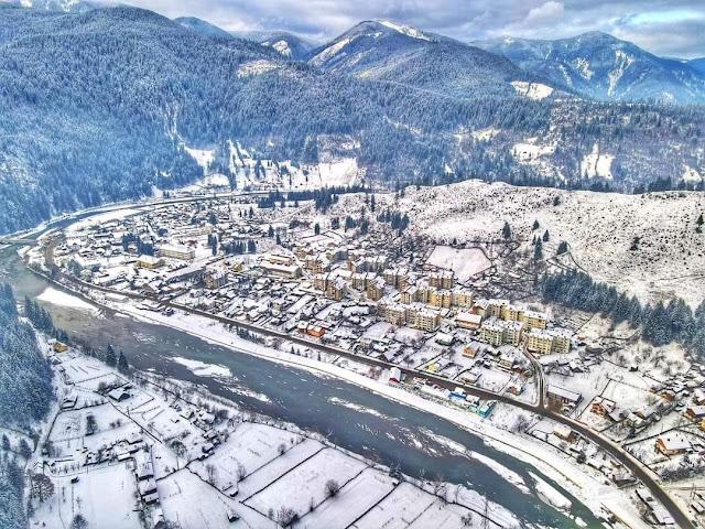 Iarna la Broșteni