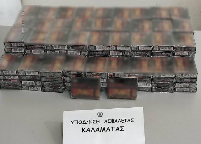 Συλλήψεις στην Καλαμάτα για 5.320 πυροτεχνήματα