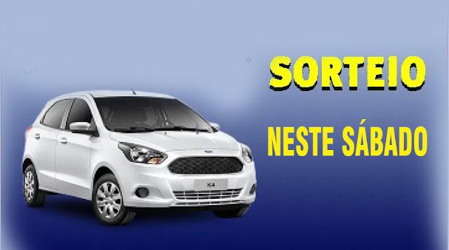 Sorteio do Ford Ká, Zero Km, do Lar Moisés Natalino será neste sábado