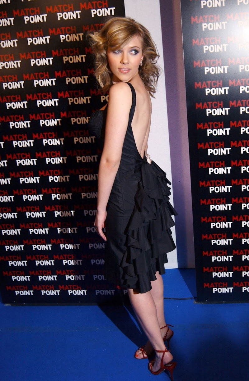 Scarlett Johansson  Clicsk At Match Point  Premiere in Rome (2005)