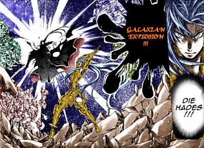 Galaxian Explosion [Gemini Aspros - Saint Seiya]