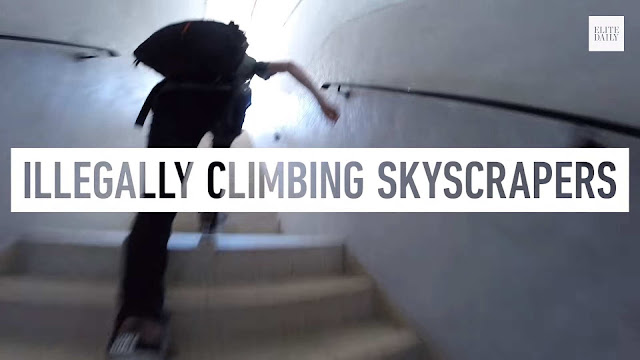Andrej Ciesielski has been illegally climbing skyscrapers