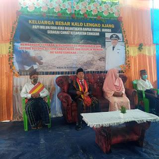 Tolak Bala Exlusive Ala Camat Congkar Ismail Jehada