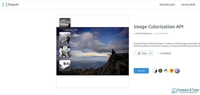 Colorizer : pour coloriser facilement les photos en noir et blanc