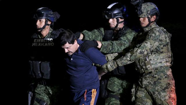 Autoridades norte-americanas têm sido incapazes de encontrar rendimentos ilegais de 'El Chapo', preso no Estados Unidos, disse o procurador-geral do México, Raúl Cervantes