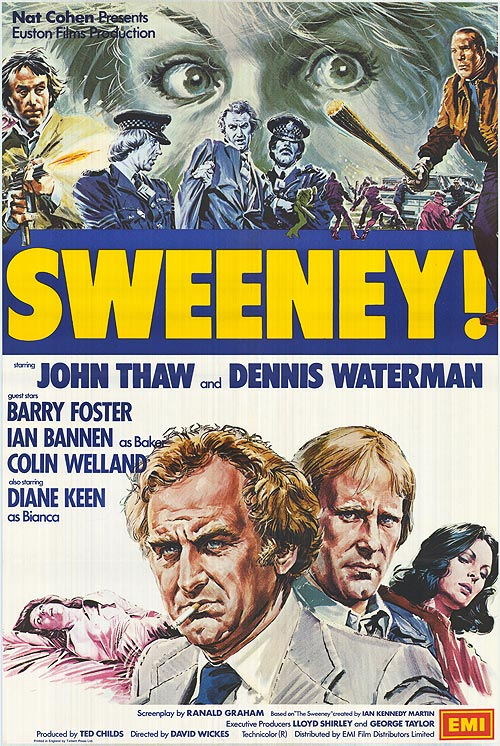 Cult TV Lounge: Sweeney! (1977), the movie
