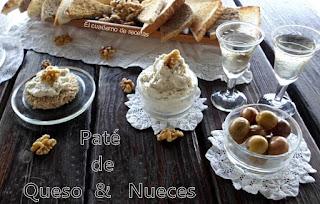 Paté de quesos & nueces