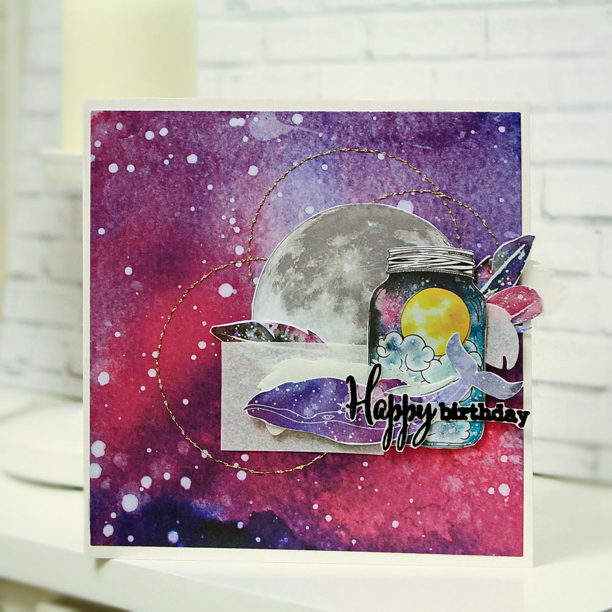 Приколы для, открытки скраббукинг к дню космонавтики