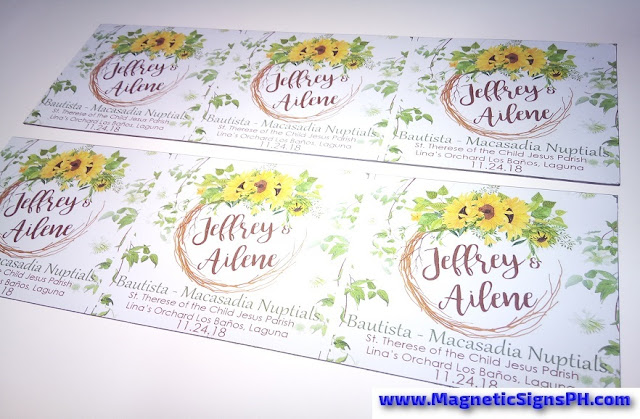 Wedding Magnet Giveaways Philippines