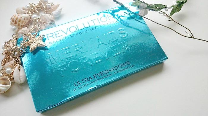 Makeup Revolution, Mermaids Forever, Eyeshadow Palette, Beauty blogger, The Style Guide Blog