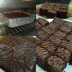 Resepi Brownies Kedut Simple Sukatan Cawan