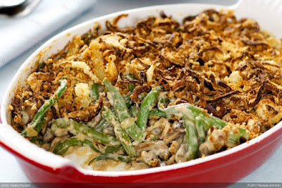 AMERICAN:  Green Bean Casserole - Just Another DARN 62 YEAR OLD green bean casserole recipe and an alternative