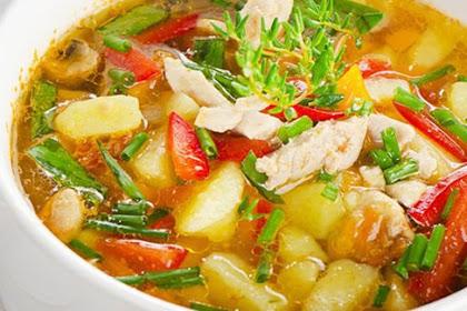 Resep Sayur Sup Ayam Enak