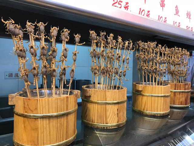 Os chineses comem insetos?
