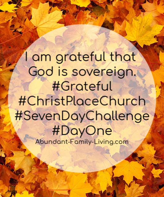I Am Grateful Challenge