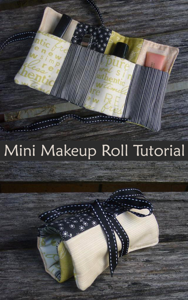 Mini Makeup Roll Tutorial