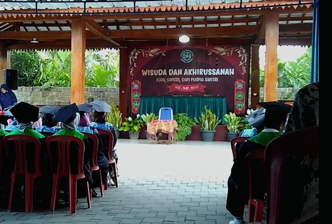 Wisuda Santri Pondok Pesantren Darul Hikmah Pakem Yogyakarta