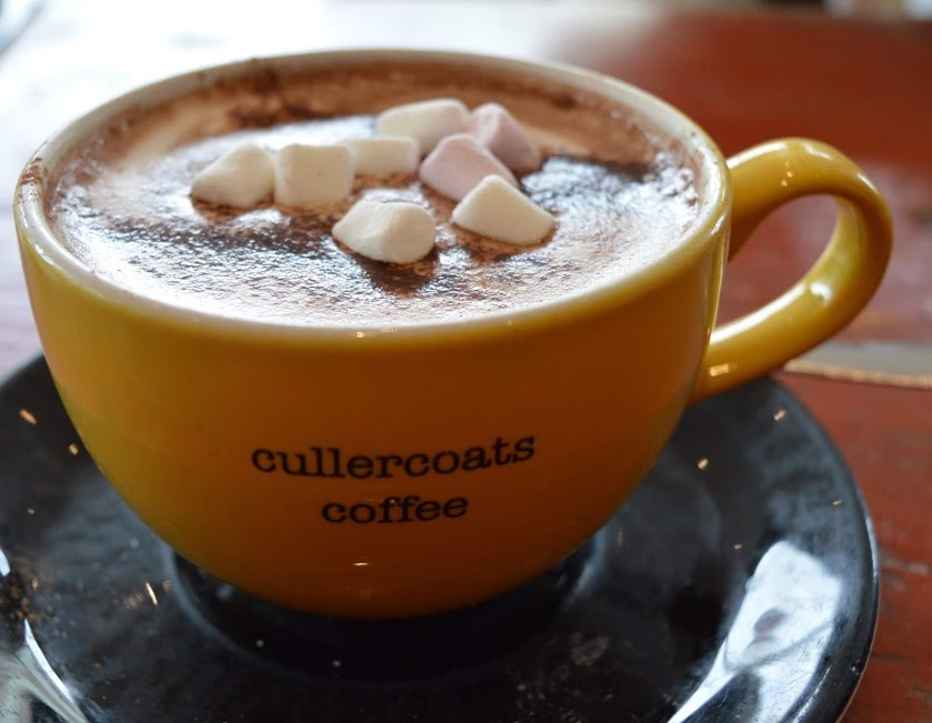 10 Magical Winter Walks for Children in North East England - Cullercoats Coffee Hot Chocolate