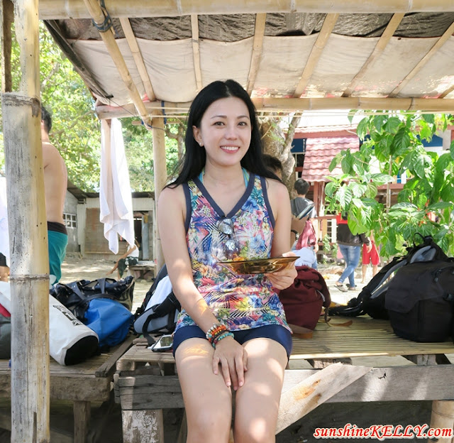 Picnic Lunch at Samalona Island, Makasar, trip of wonders, wonderful indonesia