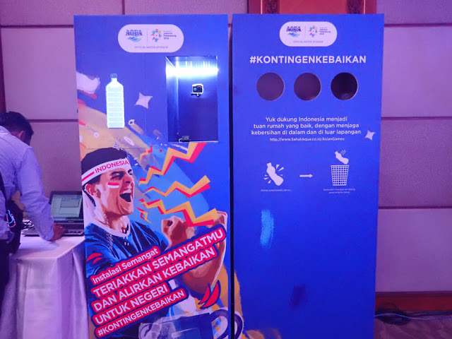 Danone-AQUA: Yuk, Bergabung Dalam #KontingenKebaikan di Ajang Asian Games 2018!