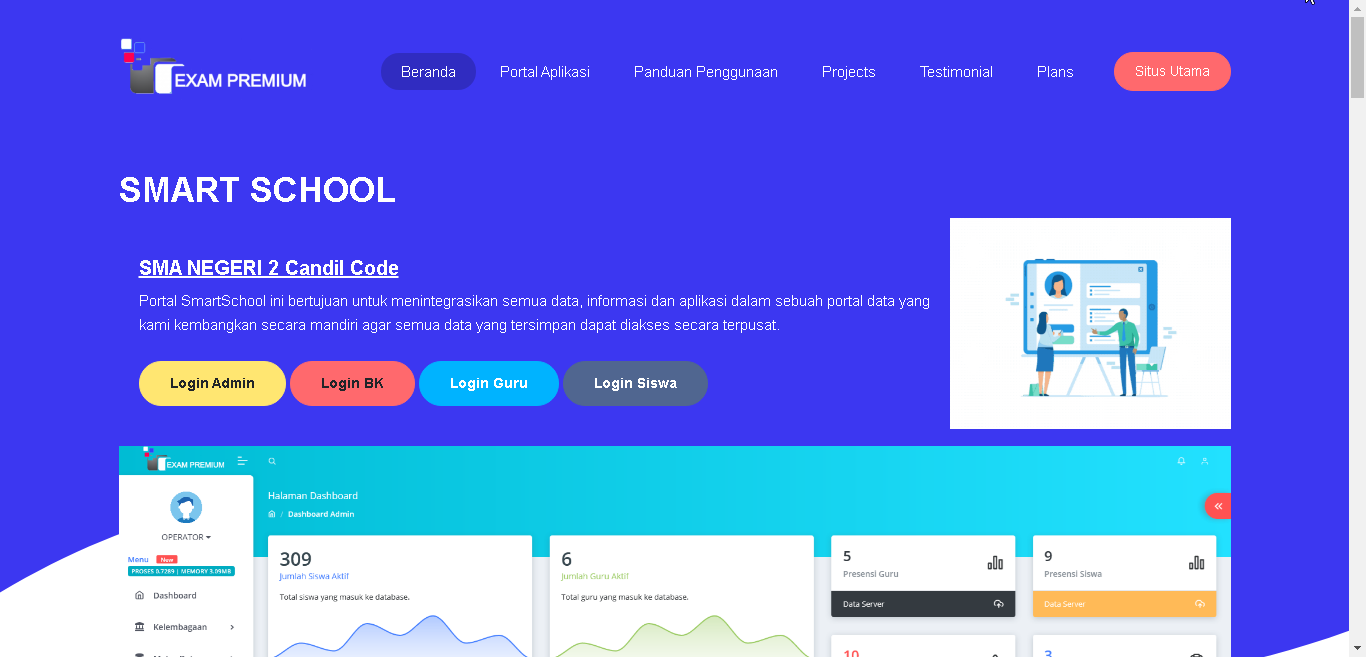 Aplikasi Smart School