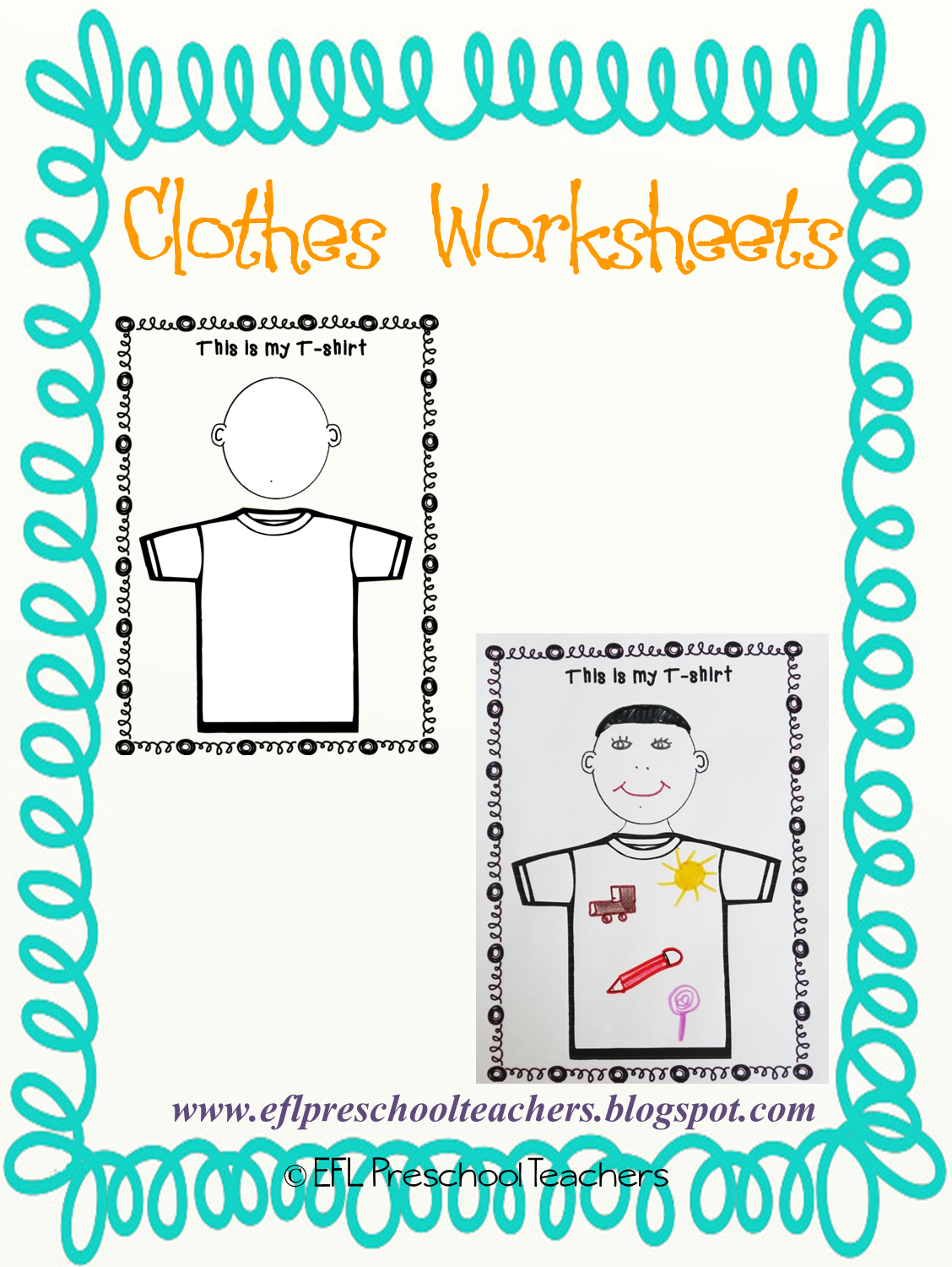 Esl Efl Preschool Teachers Clothes Worksheets And Flashcards For Esl