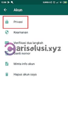kunci whatsapp dengan sidik jari