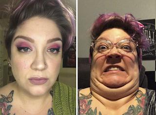 30 αστείες φωτογραφίες πριν και μετά που θα δυσκολευτείτε να πιστέψετε ότι πρόκειται για το ίδιο άτομο
