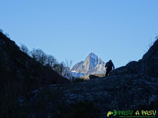 Torres llegando al Valle de Langreo