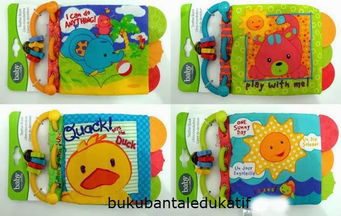 Buku Bantal, Buku Bantal Murah, BukuBantal Bayi, Mainan Edukatif, Softbook Bayi Murah