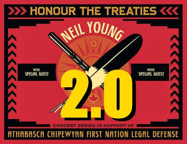 Neil Young Honour The Treaties Tour 2015