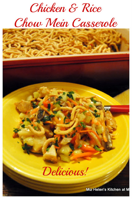 Chicken and Rice Chow Mein Casserole at Miz Helen's Country Cottage
