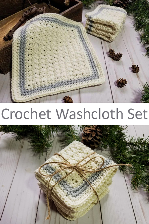 Sampler Spa Cloths - Free Easy Crochet Pattern