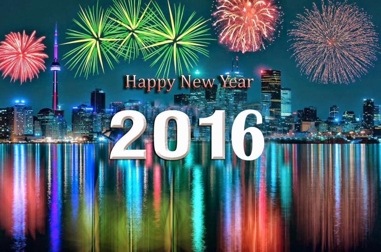 gambar selamat tahun baru bergerak