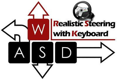 Realistic Steering Keyboard V4.0.2