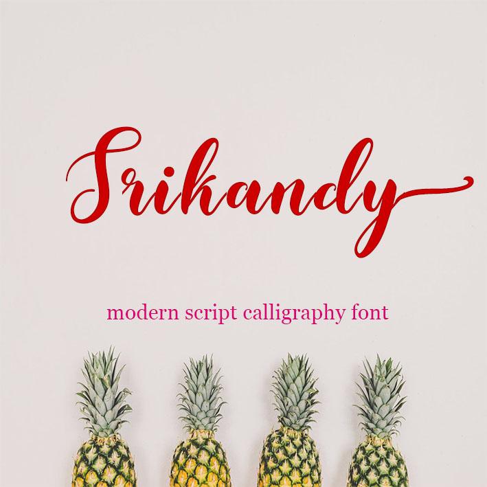 modern script calligraphy font