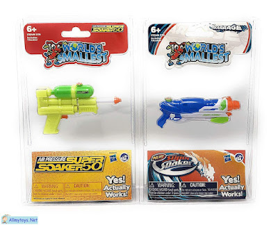 World smallest water blaster