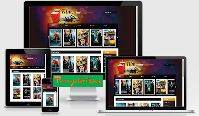 Screenshot Template Blogger FilmReviews - Templatiser