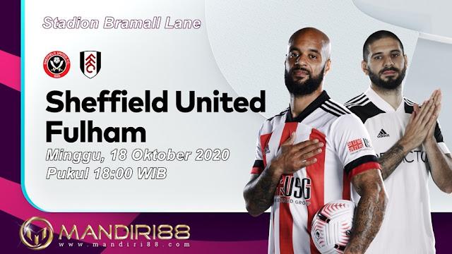 Prediksi Sheffield United Vs Fulham, Minggu 18 Oktober 2020 Pukul 18.00 WIB @ Mola TV