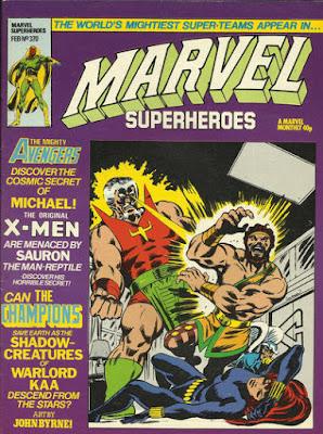 Marvel Superheroes #370, the Champions vs the Stranger