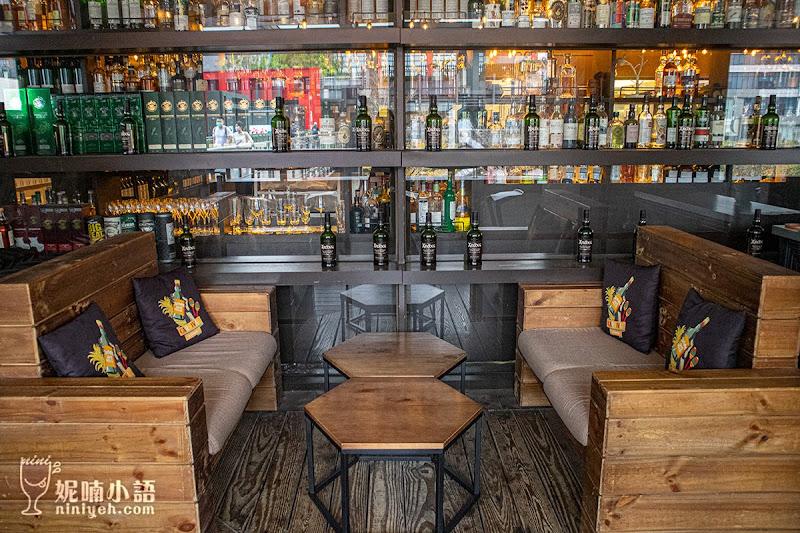 【信義區百貨美食】小後苑 Backyard Jr.。威士忌酒吧x台式餐酒館