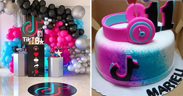 Fiesta TikTok: 37 Ideas para Decorar tu Cumpleaños