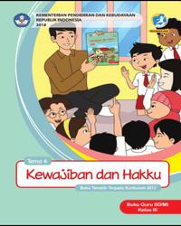 Buku tema 4 Guru Kelas 3 K13 2018