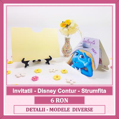 http://www.bebestudio11.com/2017/03/invitatii-botez-disney-contur-strumfita.html