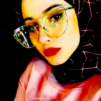 yellowish shades muslim girls dp