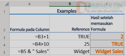Gunakan Rumus Excel untuk Membuat Perbandingan atau Gabungan pada Teks