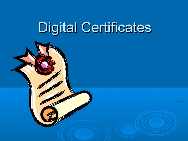 How to install a digital certificate step by step