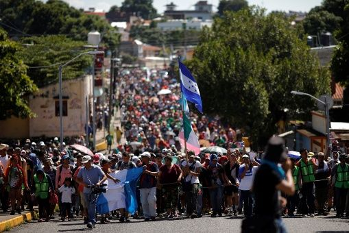 Al menos 5.000 migrantes centroamericanos han entrado a México