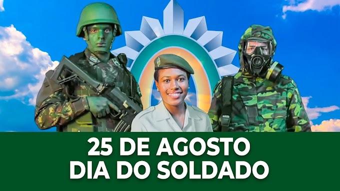 O Dia do Soldado é comemorado anualmente em 25 de agosto no Brasil.