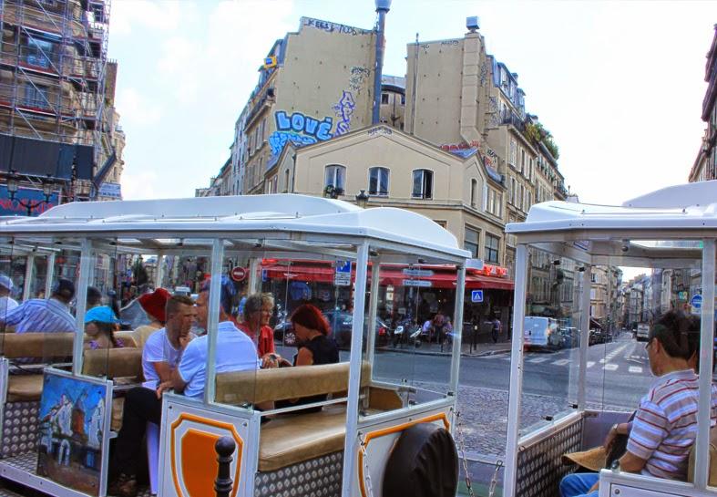 The Little Train of Montmartre